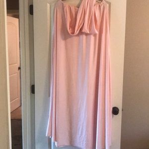 Dresses & Skirts - blush convertible bridesmaid dress